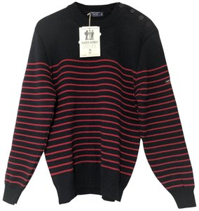 Saint James Crewneck Striped France Sweater