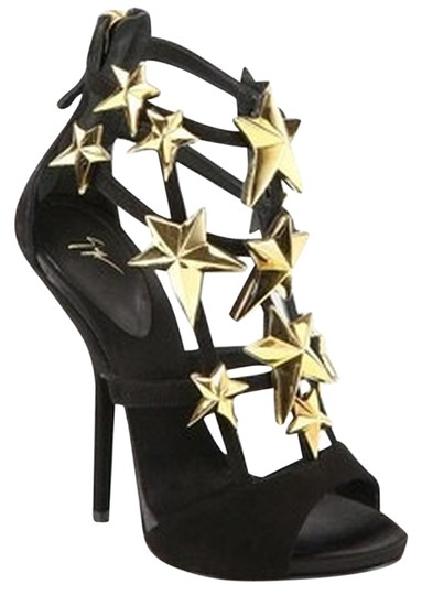 Preload https://item2.tradesy.com/images/giuseppe-zanotti-black-and-gold-gz-star-embellished-suede-sandals-size-us-105-regular-m-b-2394301-0-0.jpg?width=440&height=440
