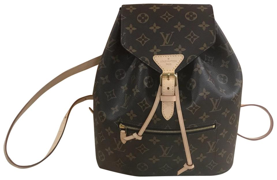 e5be14db287b Louis Vuitton Montsouris Wow 2018 Near New Sold Box Dustbag Receipt Brown  Monogram Coated Canvas Leather Backpack