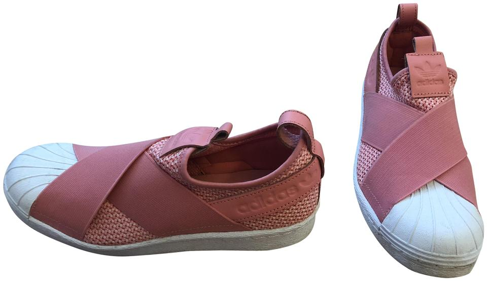 Pink Superstar Slip On Adidas Maat 5 Ons Sneakers Coral 6 pUfwxq7