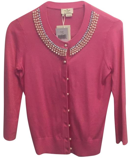 Item - Pink Jeweled Cardigan Size 2 (XS)