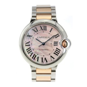 Cartier Cartier Ballon Bleu Ladies Stainless Steel Pink Dial 33mm W6920070