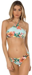 Becca by Rebecca Virtue BECCA by Rebecca Virtue High Tea Halter & Bottom 2pc Floral Bikini