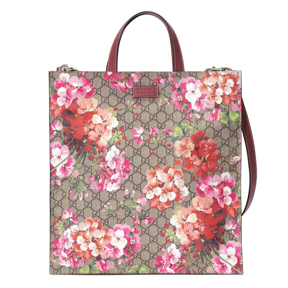 00c4545e2c34f Gucci Gg Guccissima Blooms Supreme Soft Travel Multicolor Canvas ...