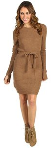 BCBGMAXAZRIA short dress Toffee Bcbg Sweater Free Shipping on Tradesy