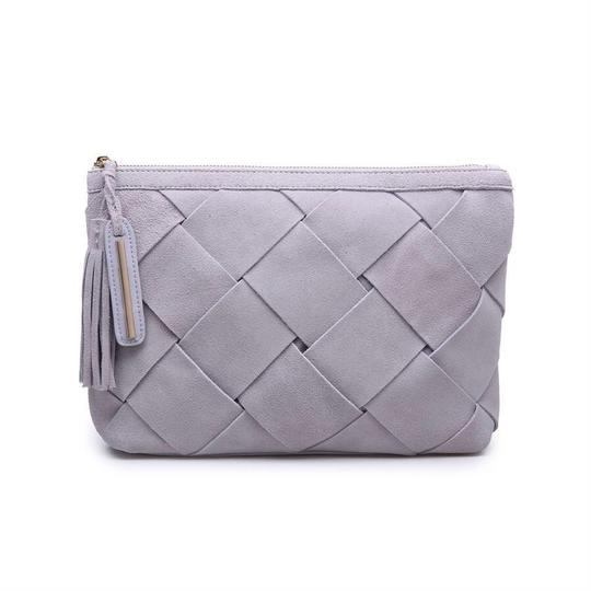 Preload https://img-static.tradesy.com/item/23943627/eleanor-clutch-grey-genuine-suede-and-faux-leather-cross-body-bag-0-0-540-540.jpg