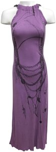 Lavender Maxi Dress by Religion Unique Chain Maxi