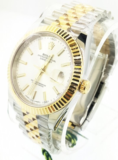 Rolex Rolex Datejust II Steel and Yellow Gold Silver Dial 41mm Watch - NEW Image 1