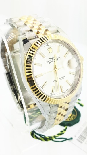 Rolex Rolex Datejust II Steel and Yellow Gold Silver Dial 41mm Watch - NEW Image 2