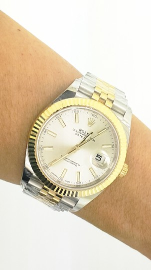 Rolex Rolex Datejust II Steel and Yellow Gold Silver Dial 41mm Watch - NEW Image 5