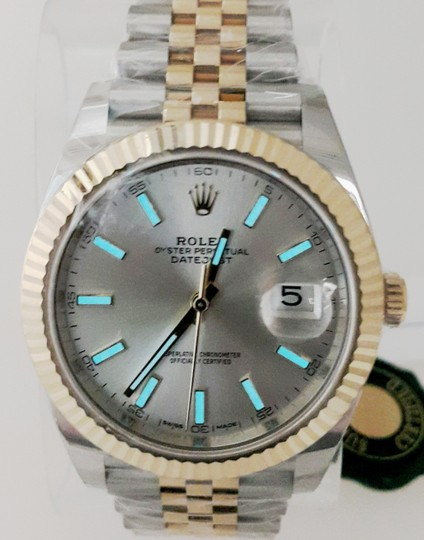 Rolex Rolex Datejust II Steel and Yellow Gold Silver Dial 41mm Watch - NEW Image 6