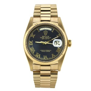 Rolex Rolex Yellow Gold Day-Date Roman Numeral Dial 36mm 18238