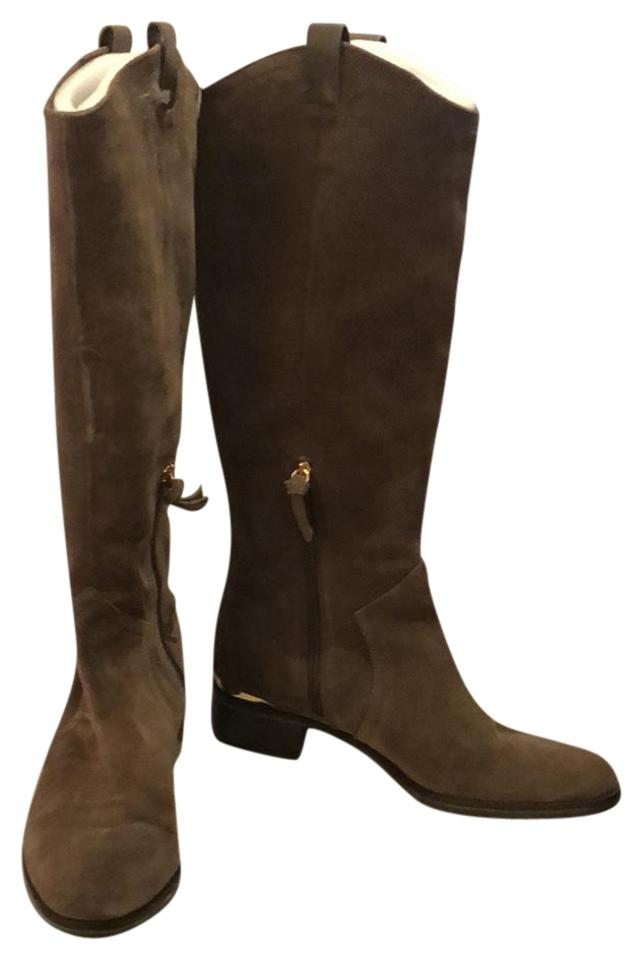 Louise et Cie High Olive Suede Lo-zada Knee High Cie Riding Boots/Booties 66c48a