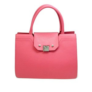 Jimmy Choo Tote in Flamingo