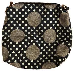 Wilsons Leather black and cream Clutch