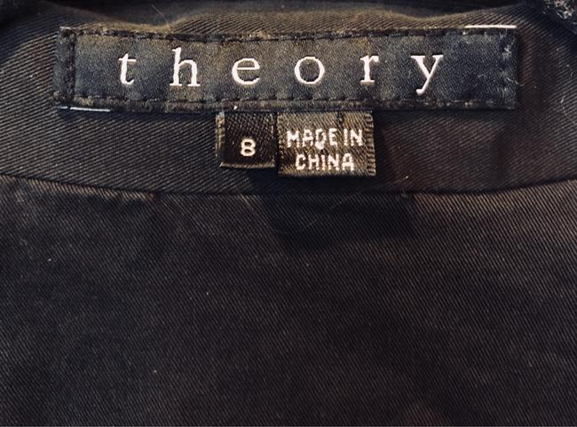 Theory Cotton Button Down Shirt Black Image 4