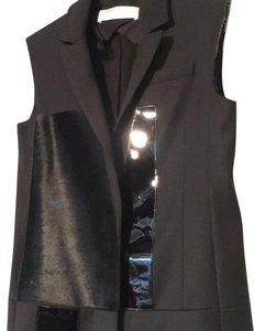 Victoria, Victoria Beckham Dress Pony Hair Burberry Vest
