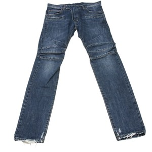 Balmain Saint Laurent Yeezy Supreme Studded Lv Relaxed Fit Jeans-Distressed