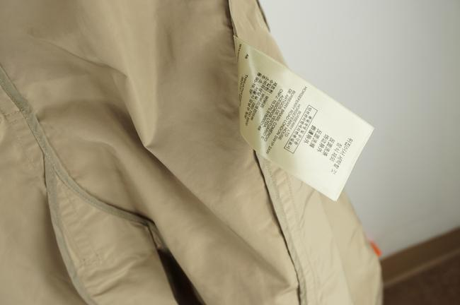 Burberry Brit Beige Sisal Polyester Balmoral Hooded Double Breasted Check Coat Size 14 (L) Burberry Brit Beige Sisal Polyester Balmoral Hooded Double Breasted Check Coat Size 14 (L) Image 11