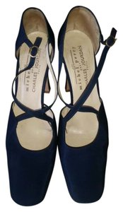 Charles Jourdan blue Pumps