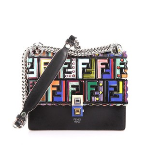 Fendi Kan I Zucca Limited Edition Discontinued Kan1 Shoulder Bag