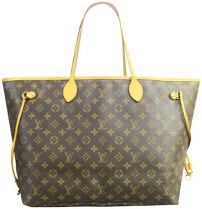 Louis Vuitton Lv Neverfull Canvas Shoulder Bag