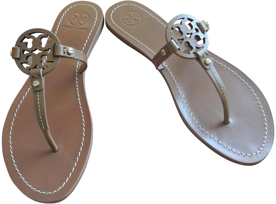 Tory Royal Burch Royal Tory Tan Mini Miller Sandals 86d5bc