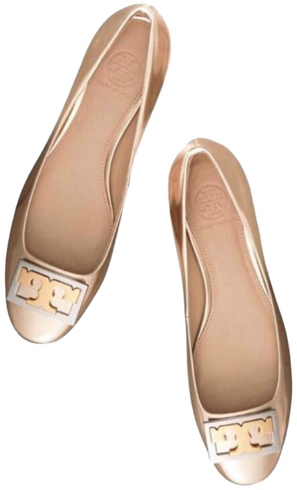 a38709a99147de Tory Burch New Gold Metallic Gigi 25mm Mika Pumps Size US 9 Regular ...