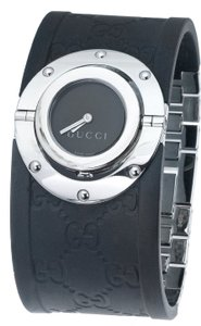 Gucci Stainless steel 33mm Gucci GG monogram Twirl watch