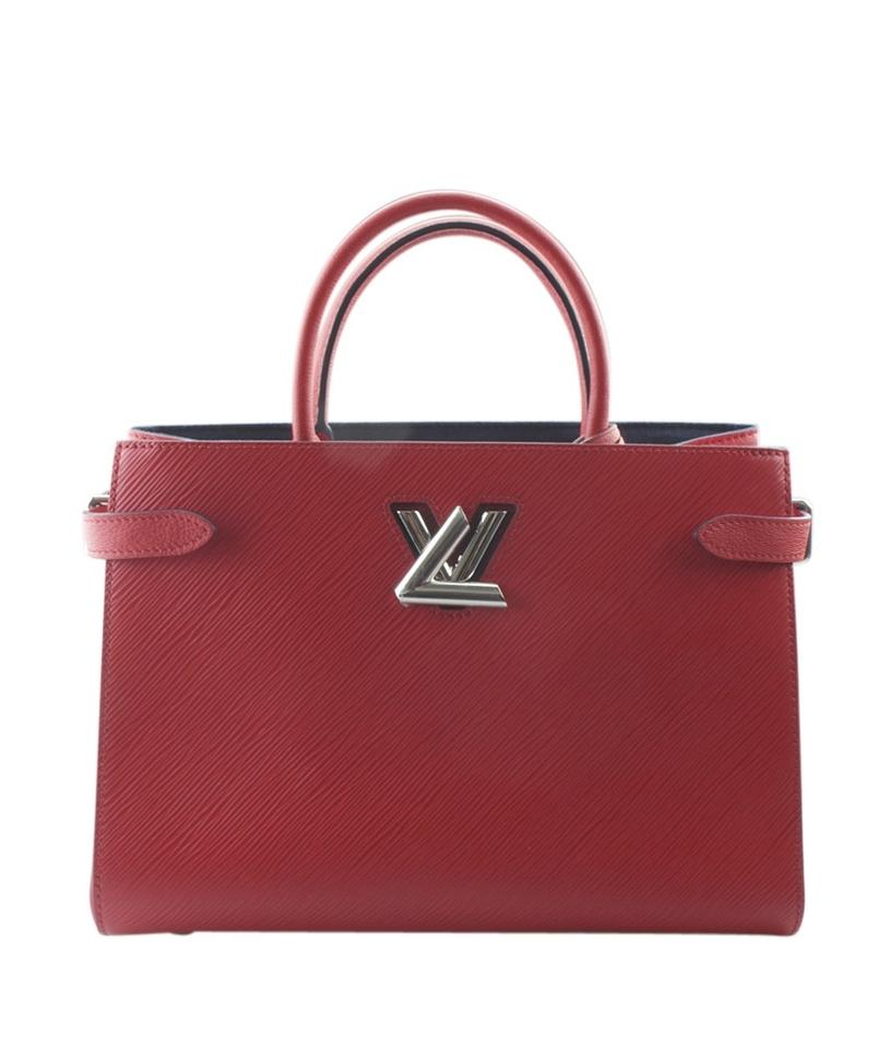 Louis Vuitton Twist (150920) Red Leather Tote - Tradesy 877315a19164b
