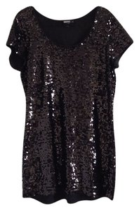 DKNY Sequin Mini Dress