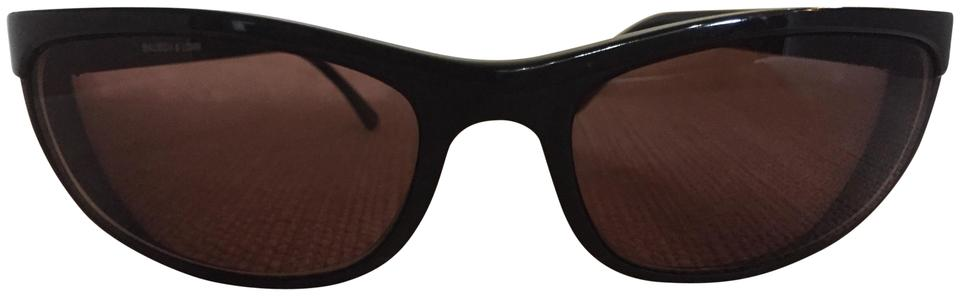 11889683c Ray-Ban Vintage Ray Ban Bausch and Lomb Matte Black Predator Sports PS2  W1847 Image ...