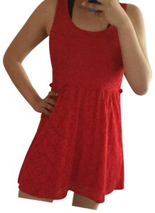 Ambiance short dress Red on Tradesy