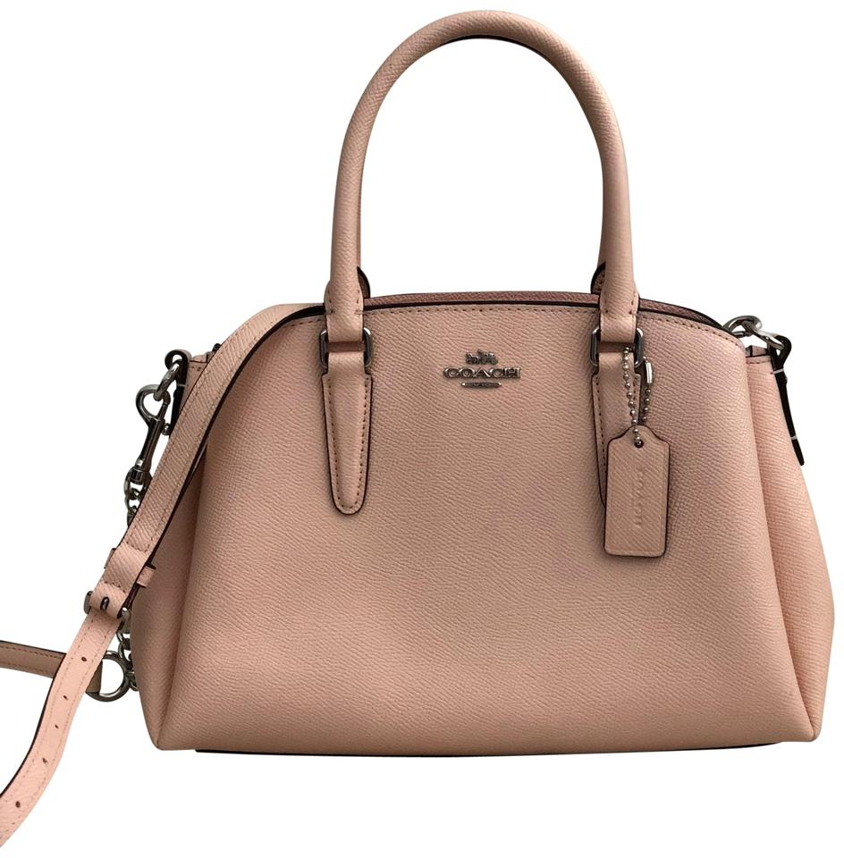 a115bde8be3f Coach Mini Sage Carryall F28977 Light Pink Leather Satchel - Tradesy