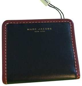 Marc Jacobs Navy & Plum Smaller-Type Wallet