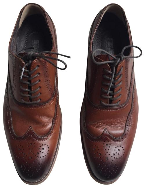 Item - Brown Men's Leather Oxfords Formal Shoes Size US 7.5 Regular (M, B)