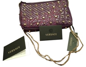 Versace Gold Studs Cross Body Bag