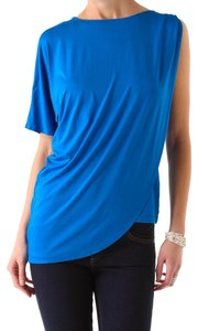 Three Dots T Shirt Voltaic blue