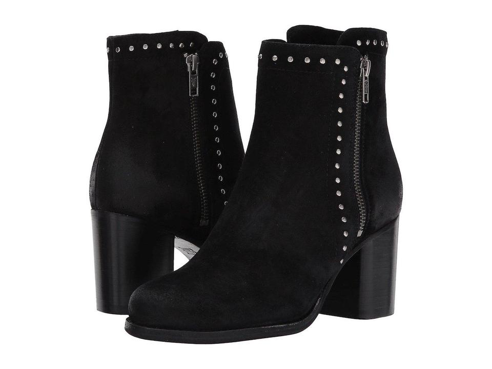 Frye Addie Black Addie Frye Double Studded Ankle Boots/Booties 5a3e16