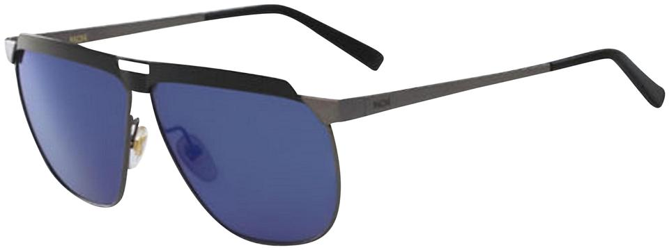 8187bf0c17 MCM Blue Metal Beveled Modern Pilot 113s (069 Sunglasses 55% off retail