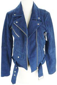 VEDA Belted Snaps Zipper Casual Royal Military Jacket