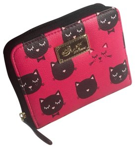 Betseyville by Betsey Johnson Betsey Johnson NWT Cat Wallet