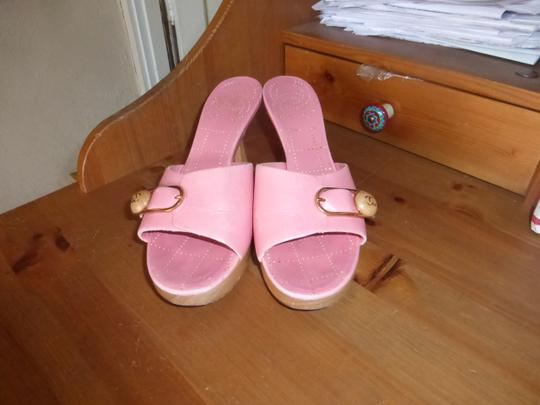 Chanel LIGHT PINK Mules Image 2