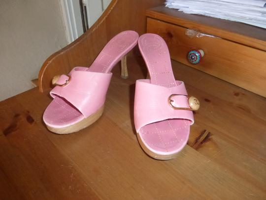 Chanel LIGHT PINK Mules Image 4
