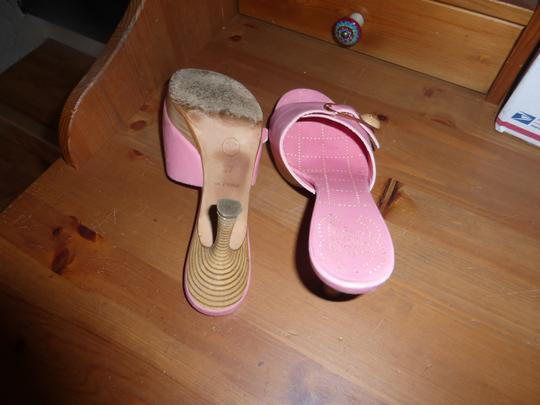 Chanel LIGHT PINK Mules Image 7