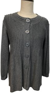 Foxcroft Soft Button 3/4 Sweater