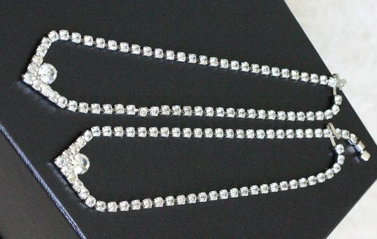 Other silver color and crystals necklace