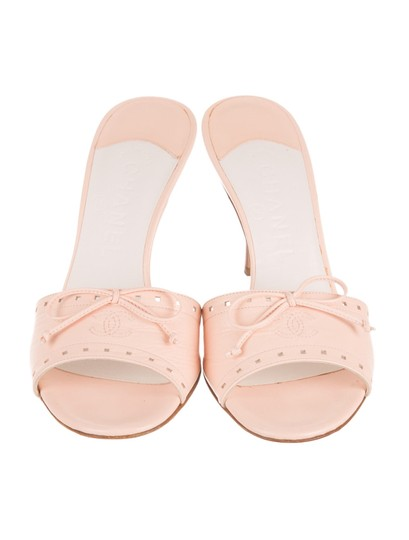 Chanel Pale Pink Sandals