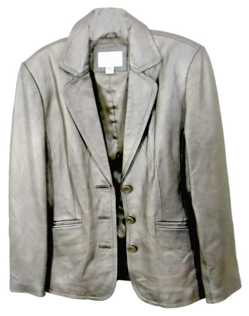 Preload https://item5.tradesy.com/images/worthington-taupe-genuine-lambskin-leather-blazer-size-6-s-2394979-0-0.jpg?width=400&height=650