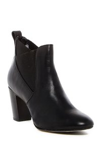 Johnston & Murphy Elastic Leather Fall Comfortable Black Boots